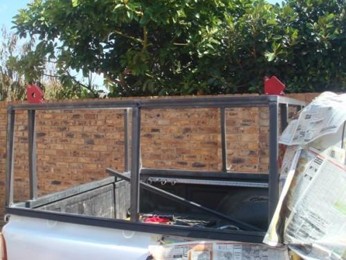 Ok seeing that I need to mount a RTT and unfortunately the canopy that came with the bakkie is useless for this purpose I decoded to give it a go at ... & DIY Canopy for Hilux with steel frame and Aluminium Cladding