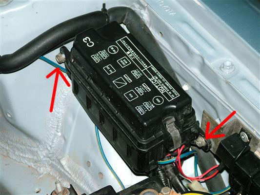 Wiring Diagram Hooter Relay : Convert tazz headlights